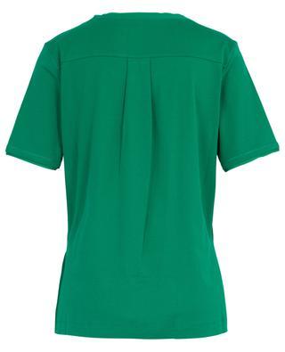 T-shirt en coton mélangé détails noués MARC CAIN