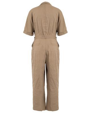 Linen blend utilitarian spirit jumpsuit MARC CAIN