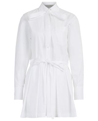 Long-sleeved cotton poplin playsuit VALENTINO