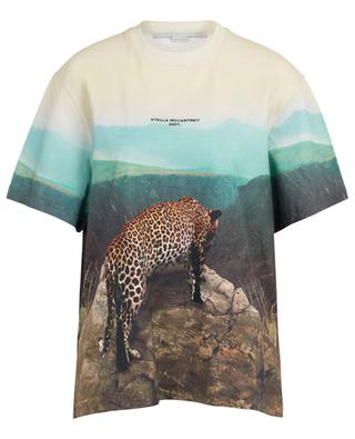T-shirt en coton imprimé savanne 2001. STELLA MCCARTNEY