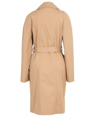 Lightweight double-breasted trench coat with belt STELLA MCCARTNEY