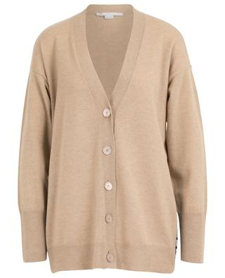 Virgin wool cardigan with logo STELLA MCCARTNEY