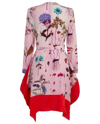 Kalyn short floral handkerchief hem dress STELLA MCCARTNEY