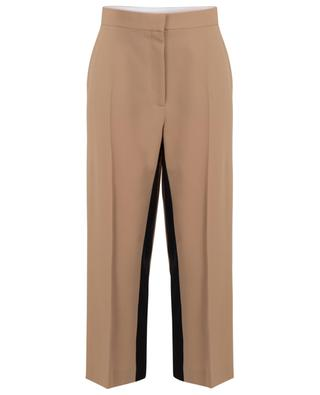 Tracy cropped wide-leg trousers with black bands STELLA MCCARTNEY