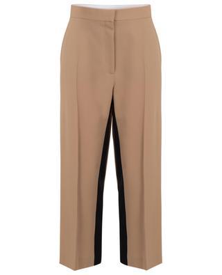 Pantalon large raccourci à bandes noires Tracy STELLA MCCARTNEY