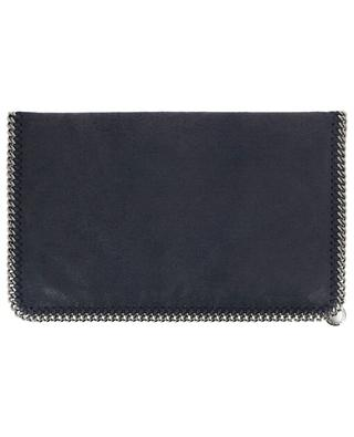 Falabella Shaggy Deer large faux suede clutch STELLA MCCARTNEY