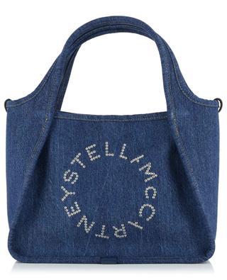 Petit sac cabas en denim Stella Logo STELLA MCCARTNEY