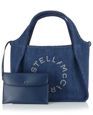 Stella Logo small denim tote bag STELLA MCCARTNEY