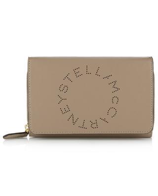 Portefeuille porté croisé en cuir synthétique Stella Logo STELLA MCCARTNEY