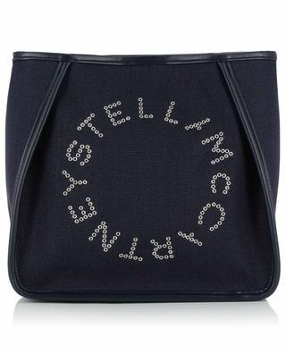 Sac porté épaule en coton avec logo Stella STELLA MCCARTNEY