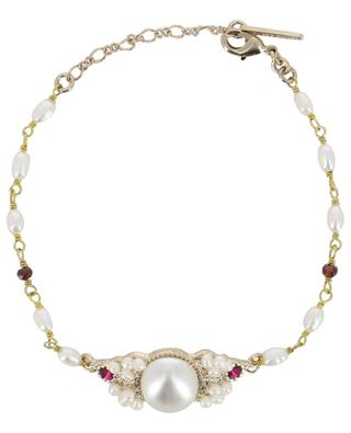 Armband mit Perlen und Kristallen Linda SATELLITE
