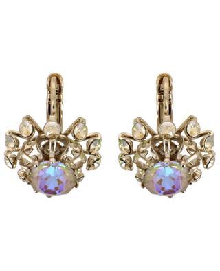Kleine Ohrringe mit irisierenden Kristallen Naomie SATELLITE
