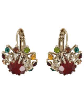 Kleine Ohrringe mit bunten Kristallen Naomie SATELLITE