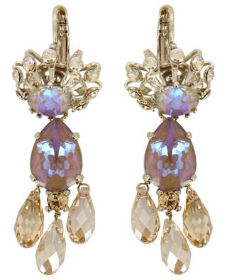 Irisierende Ohrringe mit Tropfenanhängern Naomie SATELLITE