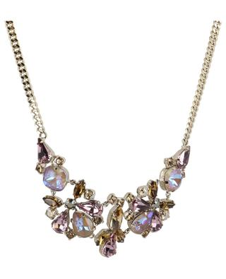 Naomie necklace with iridescent crystals SATELLITE