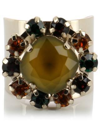 Bague ornée de cristaux colorés Naomie SATELLITE
