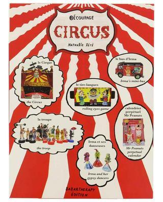 Jeu de découpage Circus BAZARTHERAPY