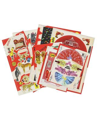 Circus cut-out game BAZARTHERAPY