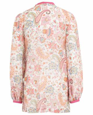 Cotton and silk blend tunic ETRO