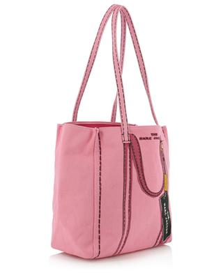 The Tag Tote trompe l'oeil cotton and linen tote bag MARC JACOBS