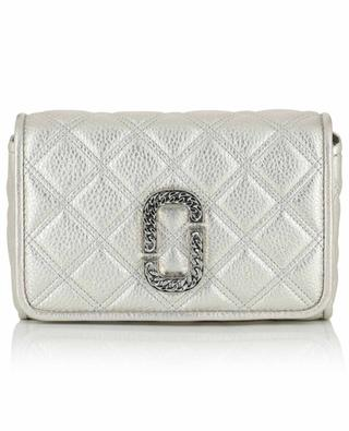 Naomi quilted metallic leather shoulder bag MARC JACOBS