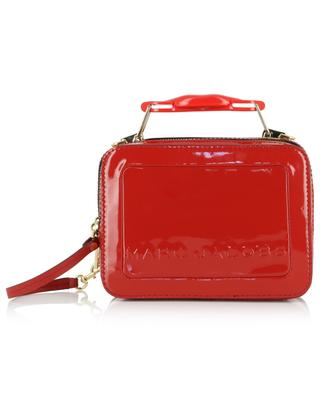 The Box patent leather handbag with mouth detail MARC JACOBS