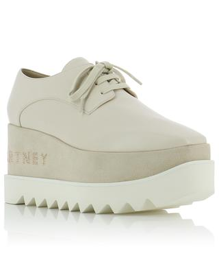 Elyse logo derby shoes STELLA MCCARTNEY