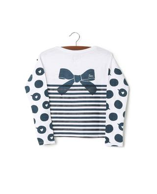 Long sleeved cotton T-shirt IKKS JUNIOR
