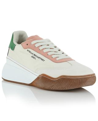 Loop faux suede and recycled polyester sneakers STELLA MCCARTNEY