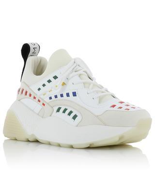 Bunte Sneakers aus Kunstleder Eclypse STELLA MCCARTNEY