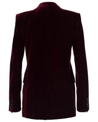 Velvet blazer with satin lapel SAINT LAURENT PARIS