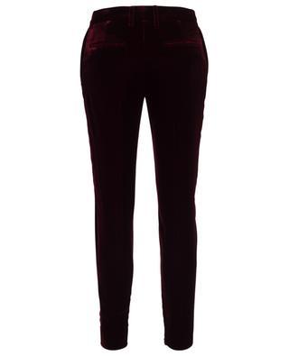 Pantalon skinny en velours SAINT LAURENT PARIS
