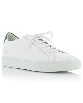 Baskets basses bicolores en cuir Retro Low COMMON PROJECTS