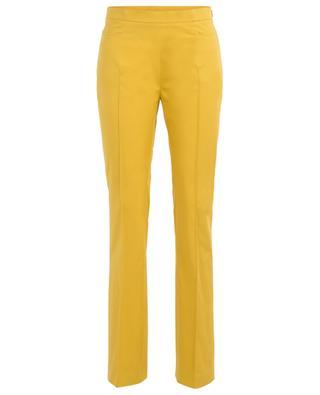 Pantalon droit en coton mélangé AKRIS PUNTO