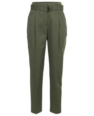 Fred cotton blend carotte trousers AKRIS PUNTO