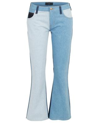 Patchwork bootcut jeans ALANUI