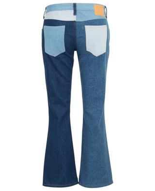 Patchwork-Bootcut-Jeans ALANUI