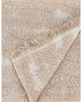 Foulard léger imprimé feuilles TLEAVES HEMISPHERE