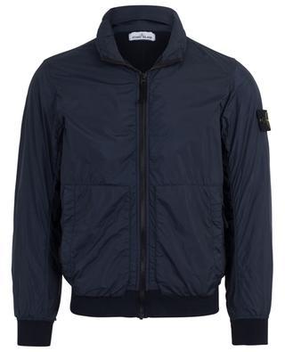 Garment Dyed Crinkle Reps NY nylon bomber jacket STONE ISLAND