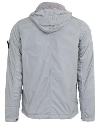 Garment Dyed Crinkle Reps NY lightweight hooded jacket STONE ISLAND