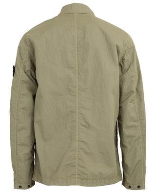 S.I. PA/PL Seersucker-TC lightweight button-down jacket STONE ISLAND