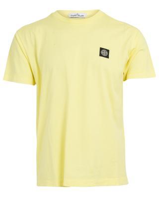 T-shirt col rond en coton STONE ISLAND
