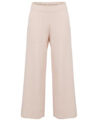 Wool blend wide leg jogging trousers HEMISPHERE