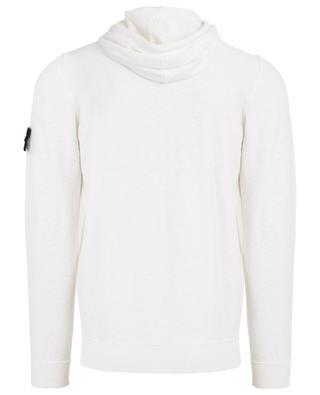 Sweat-shirt à capuche en coton mélangé STONE ISLAND