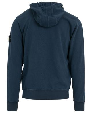 Zippered cotton hoodie STONE ISLAND