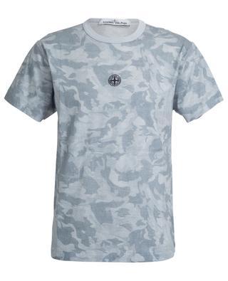 T-Shirt mit Camouflage-Print 233E7 Big Loom STONE ISLAND