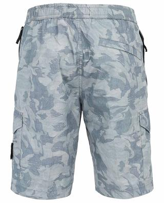 Short en coton imprimé camouflage STONE ISLAND