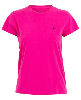 Round neck cotton T-shirt with logo POLO RALPH LAUREN