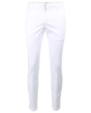 Gaubert slim fit cotton stretch trousers DONDUP