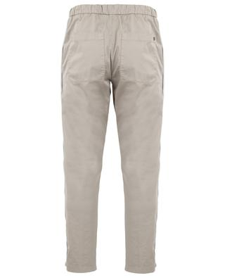 Casual cord detail cotton stretch trousers DONDUP
